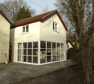 Double storey home extension