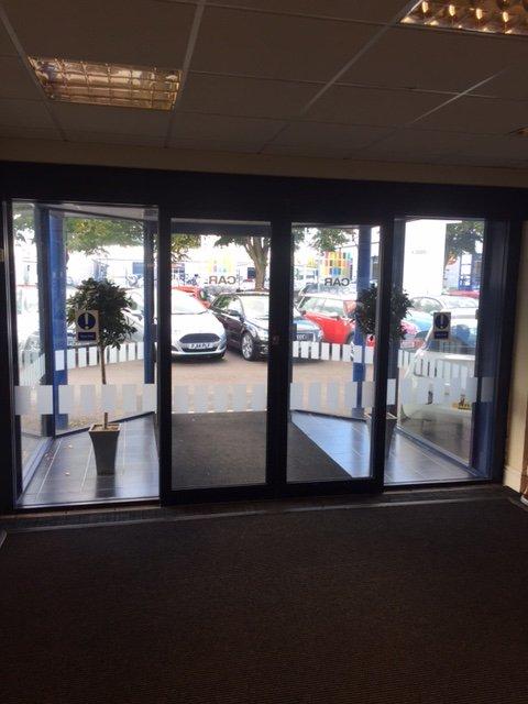 Office front doors