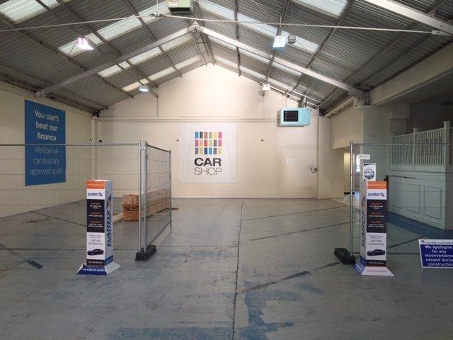 Car shop repairs