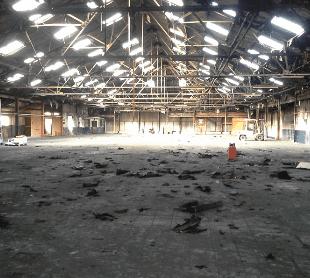 Goods storage facility