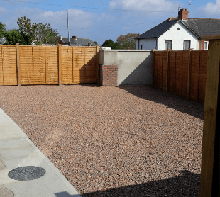Outdoor home area