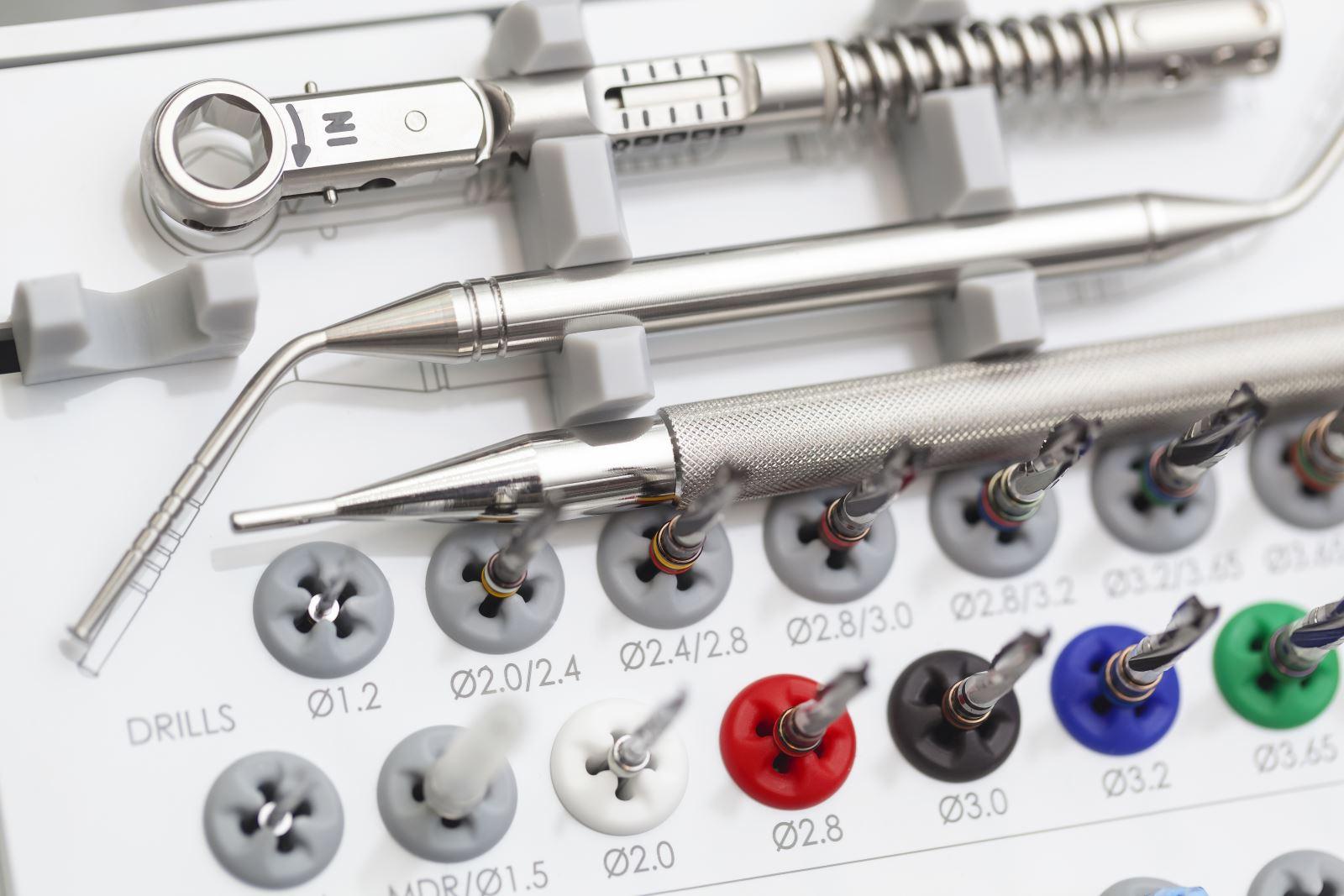 dell'attrezzatura odontoiatrica