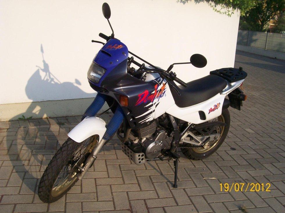 Honda Dominator 650 patente A2 manuale