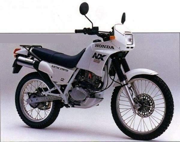 Honda nx 125 patente A1 manuale