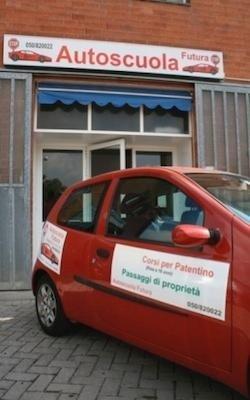 auto sponsor Autoscuola Futura Pisa
