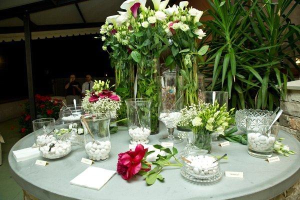 Addobbi floreali  per l'evento