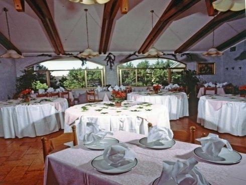 ristorante con vista all'aperto