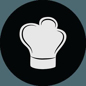 icona di un cappello da cuoco