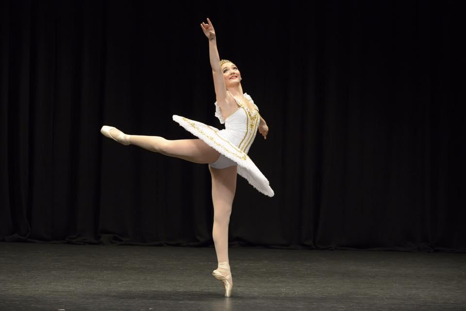 Ballerinainwhite