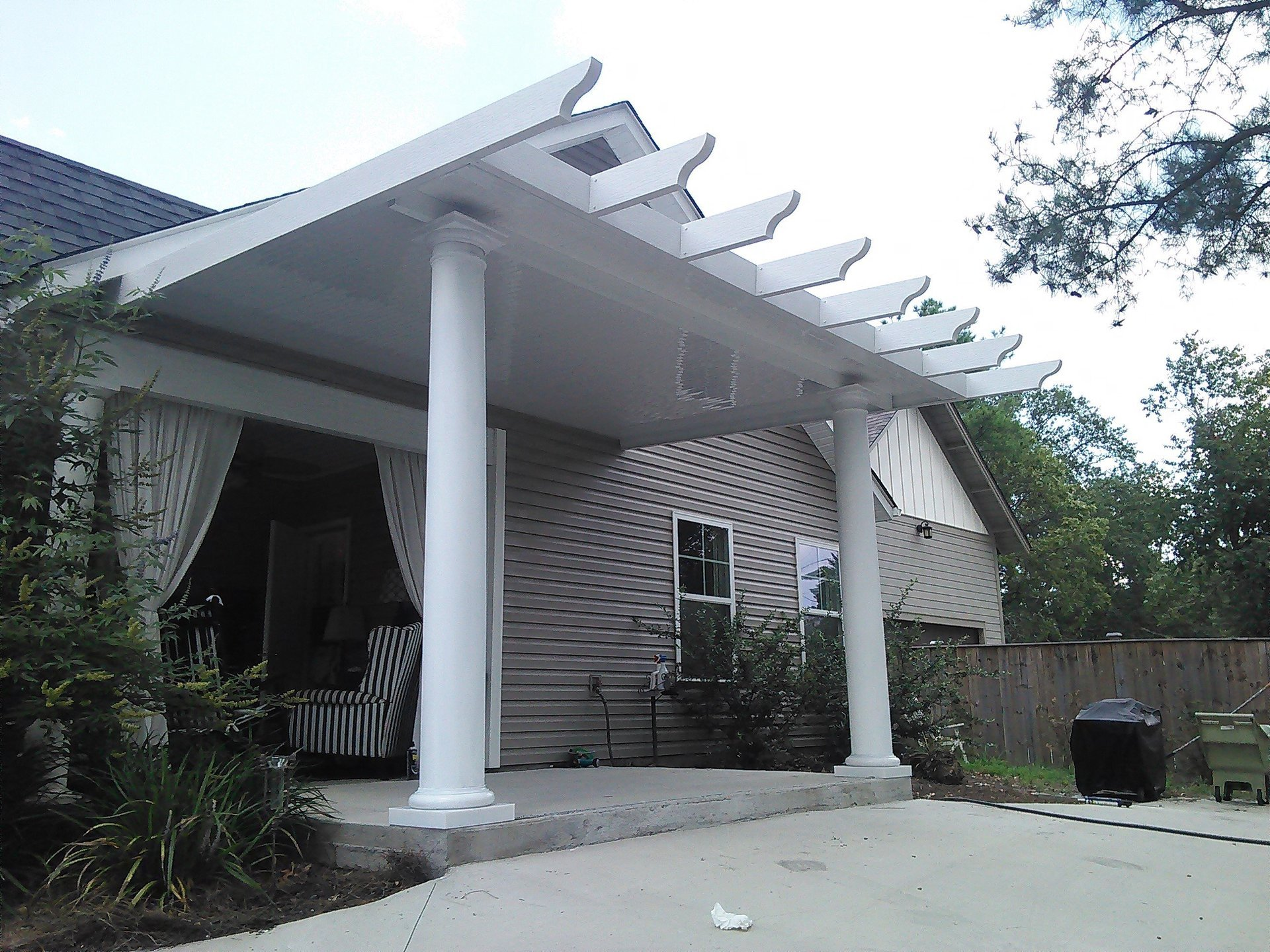 AWNINGS PATIO COVERS AND SCREEN PORCHES