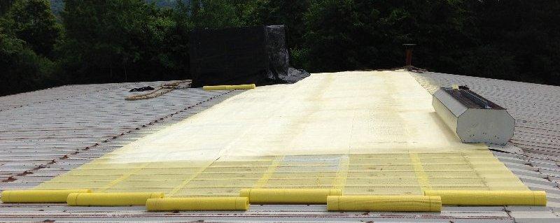 PUR-Schau Dachsanierung