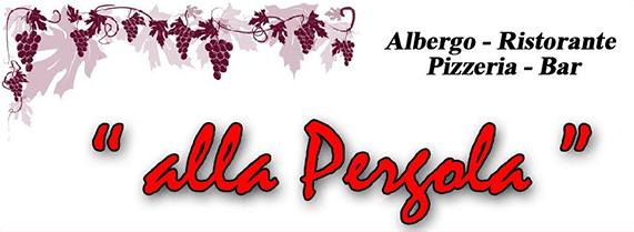 ALLA PERGOLA - ALBERGO - RISTORANTE - PIZZERIA - LOGO