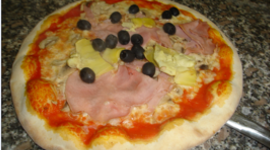 Pizza alle olive