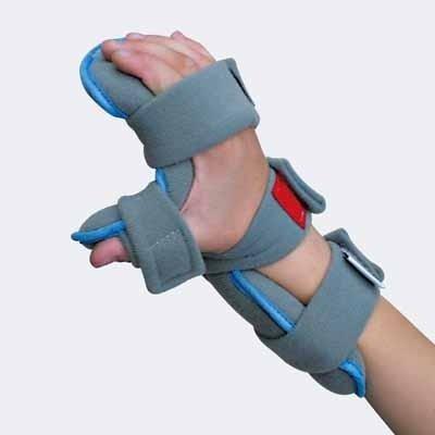 ortesi palmare per polso mano e dita personalizzabile