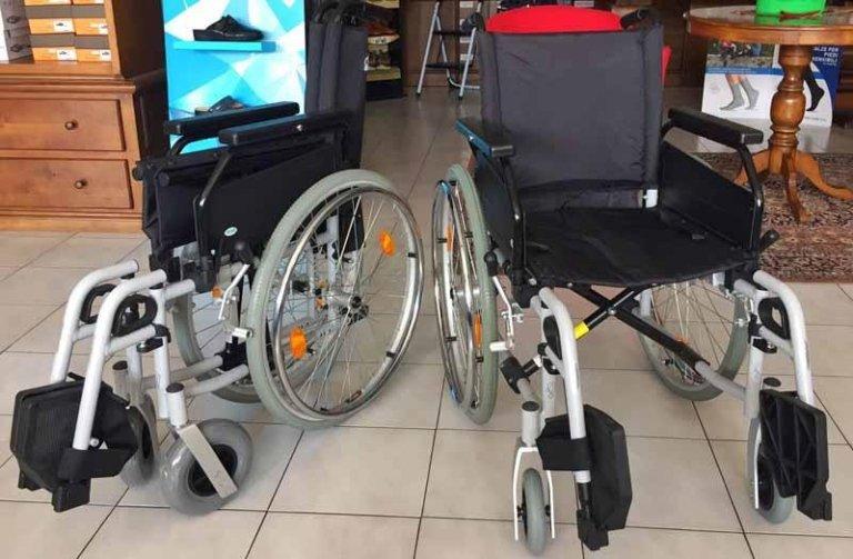 carrozzina pieghevole standard allmobility