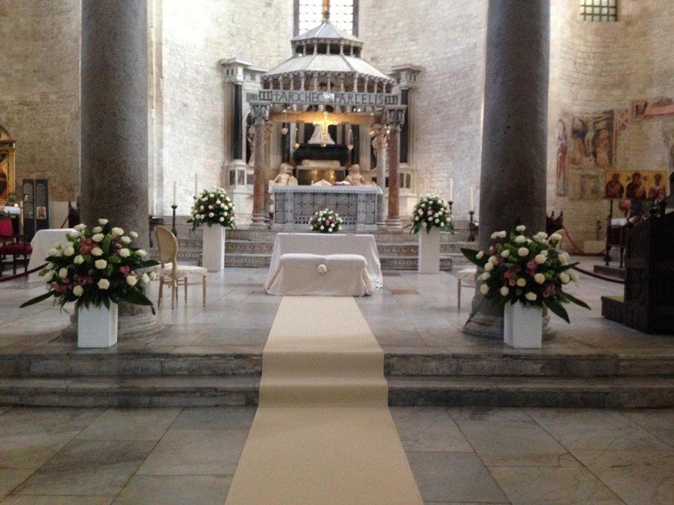 addobbo matrimonio chiesa