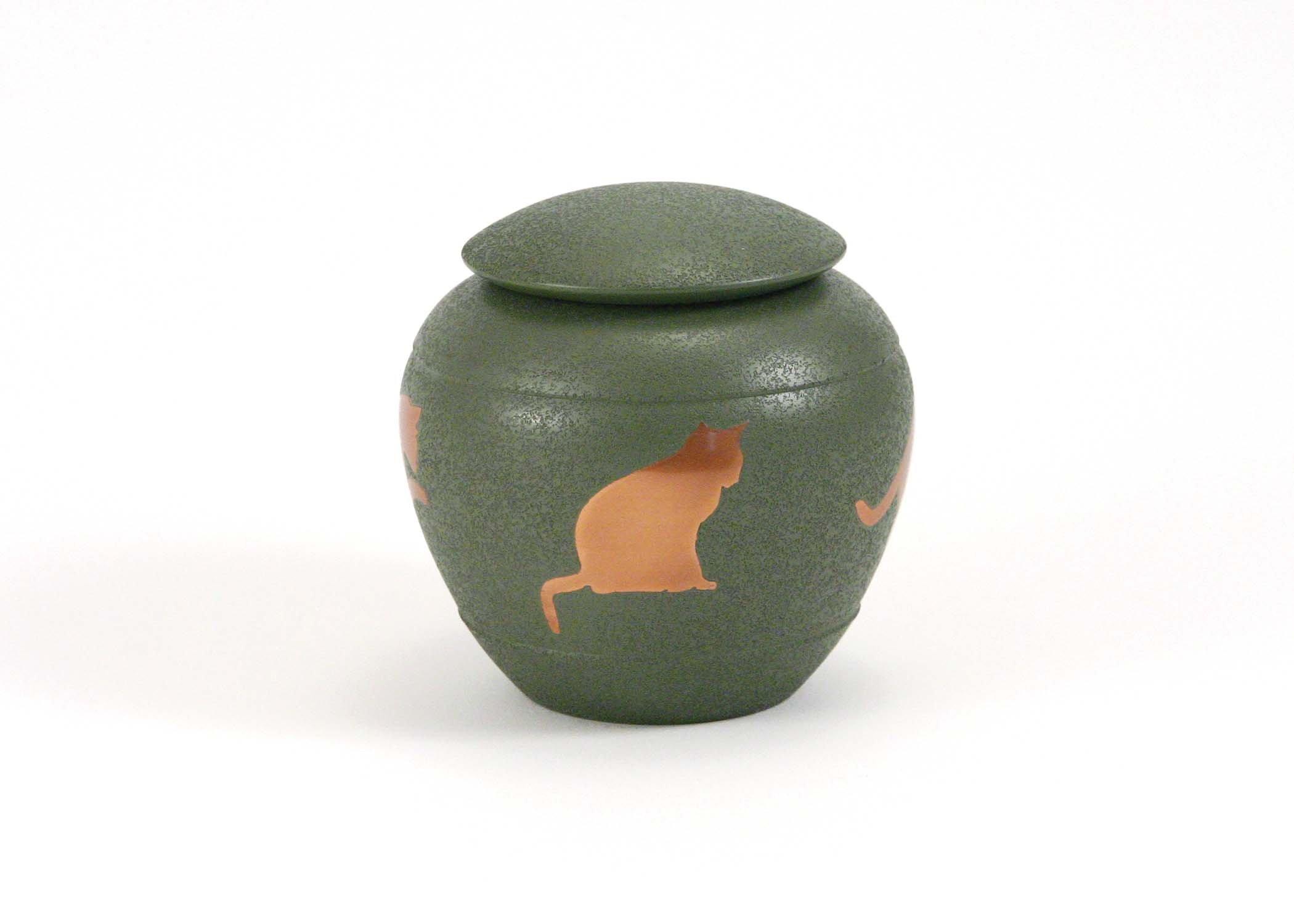 Fern Silhouette Cat Urn