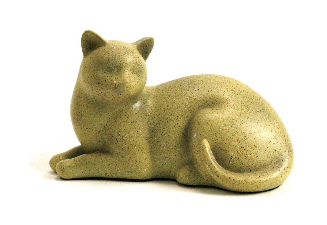 Cozy Cat Fawn Urn