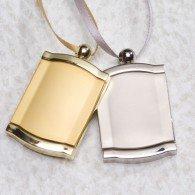 Golden Frame Urn Pendant