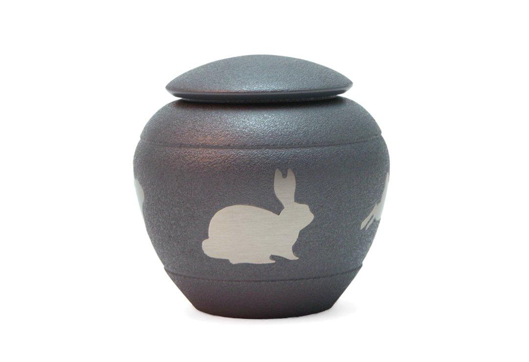 Silhouette Rabbit Urn