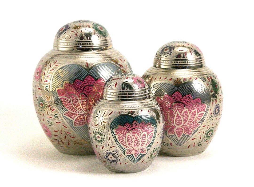 Lotus Heart Urn