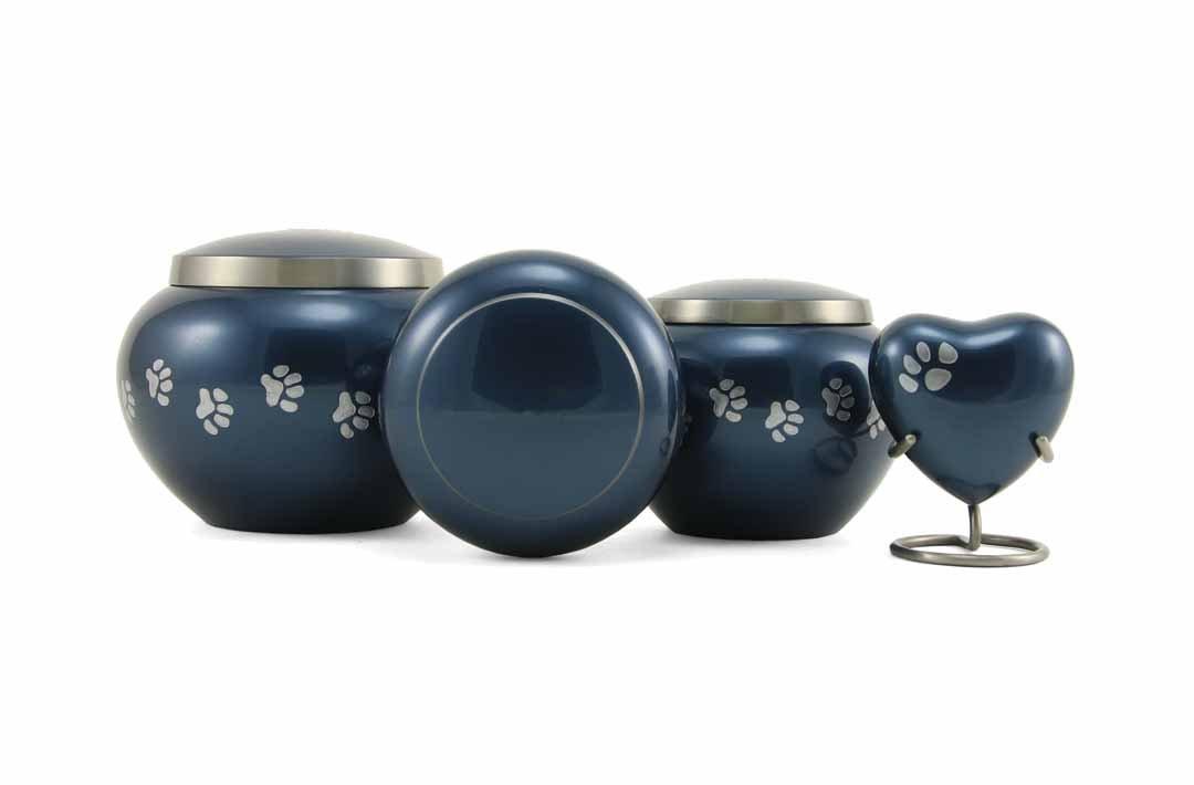Odyssey Moonlight Paw Print Urns