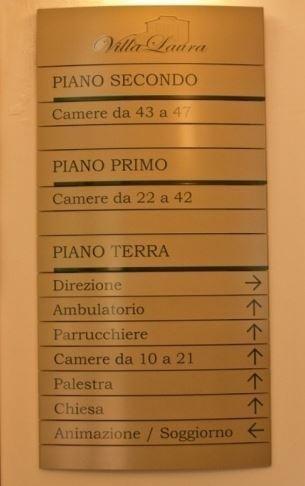 servizi Villa Laura Firenze