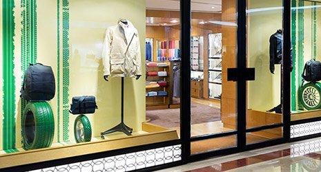 panther glass pty ltd entrance of shop
