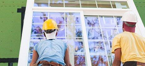 panther glass pty ltd men fitting glass window