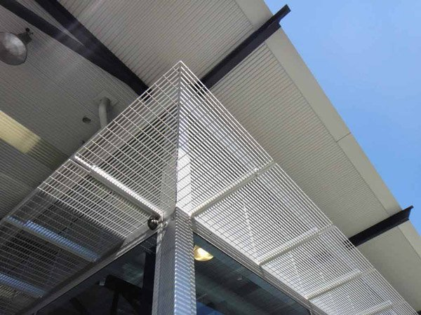 panther glass pty ltd building with sunshade