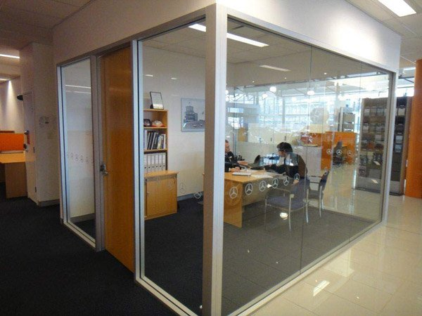 panther glass pty ltd room by glass in office