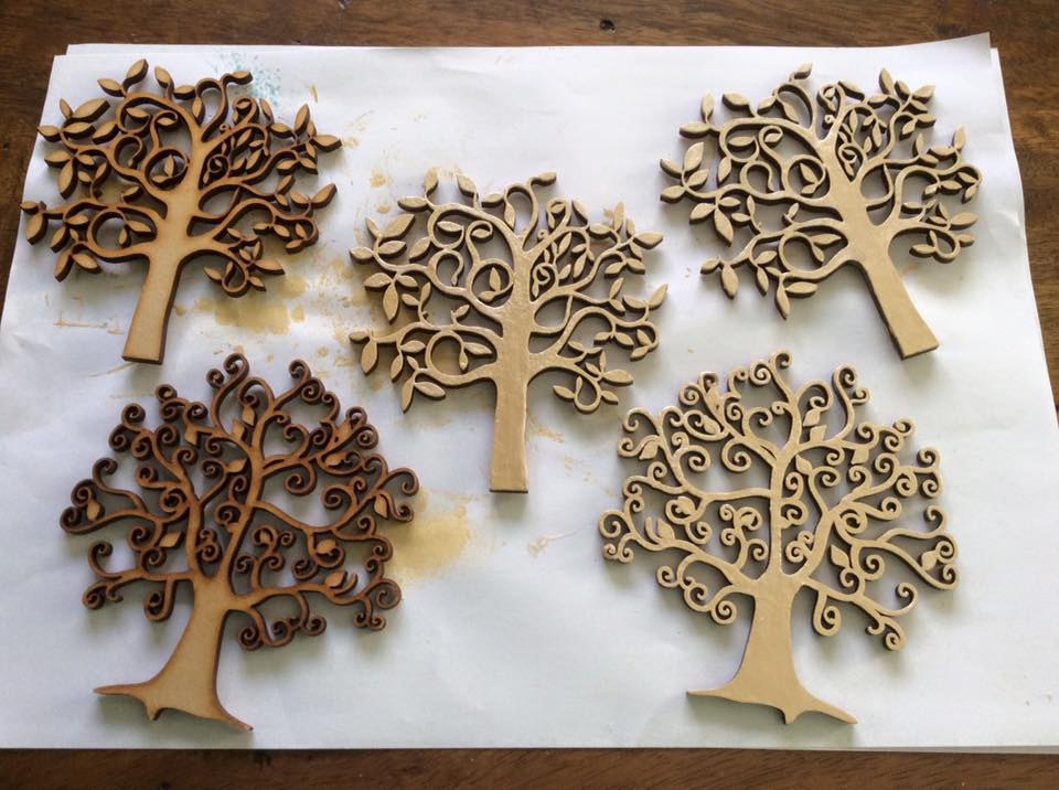 Wooden Tree Pictures