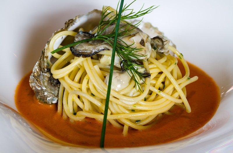 spaghetti con cozze