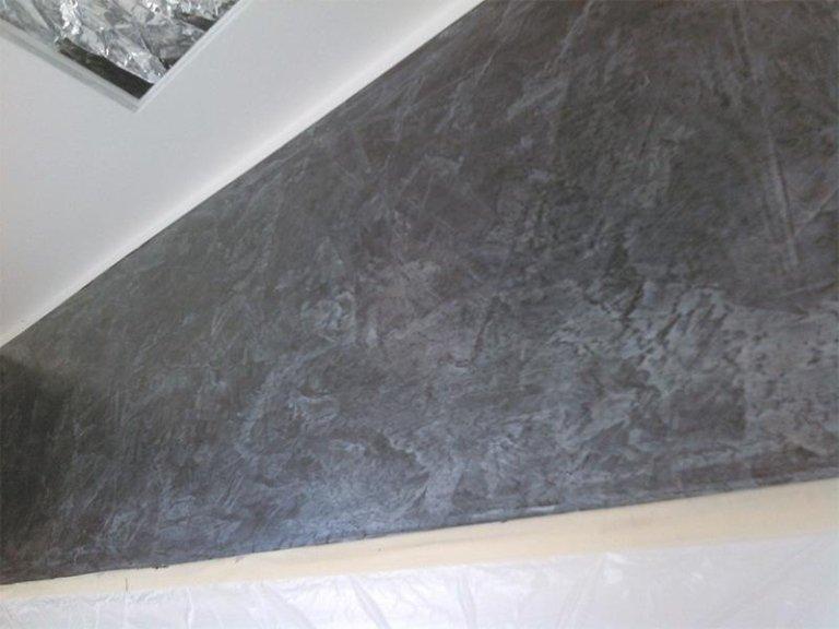 Dettaglio imbiancatura soffitto