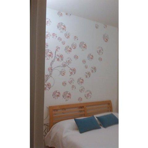 Decorazione sopra letto Wall & decò