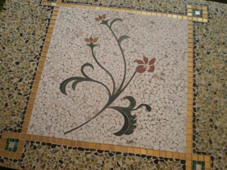 dettaglio pavimento veneziana