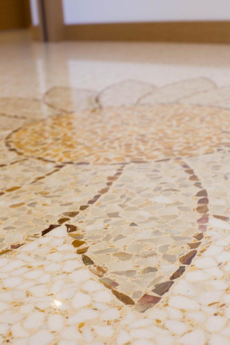 Pavimento mosaico dettaglio