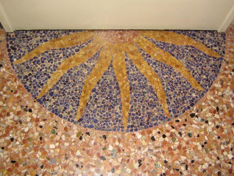 decorazioni pavimento alla veneziana