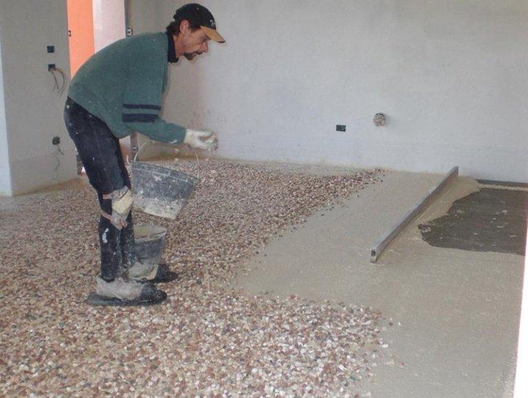 Veneziana pavimenti simple un tipo di di spessore - Piastrelle tipo veneziana ...