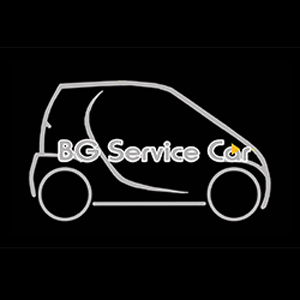 BG SERVICE CAR logo