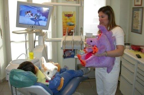 seduta dentistica bambini