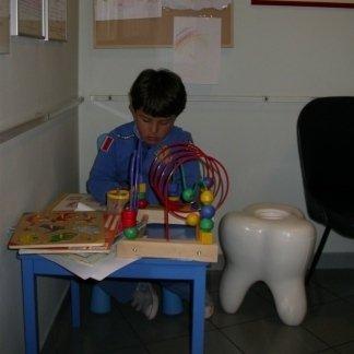 sala attesa bambini