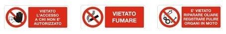 Vendita cartelli sengaletica Antincendio e Sicurezza