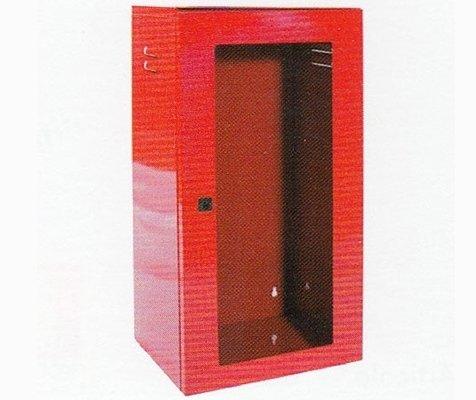 cassetta porta estintore in acciaio