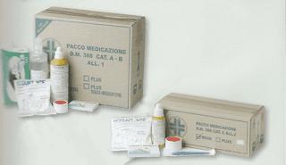 pacchi medicazione