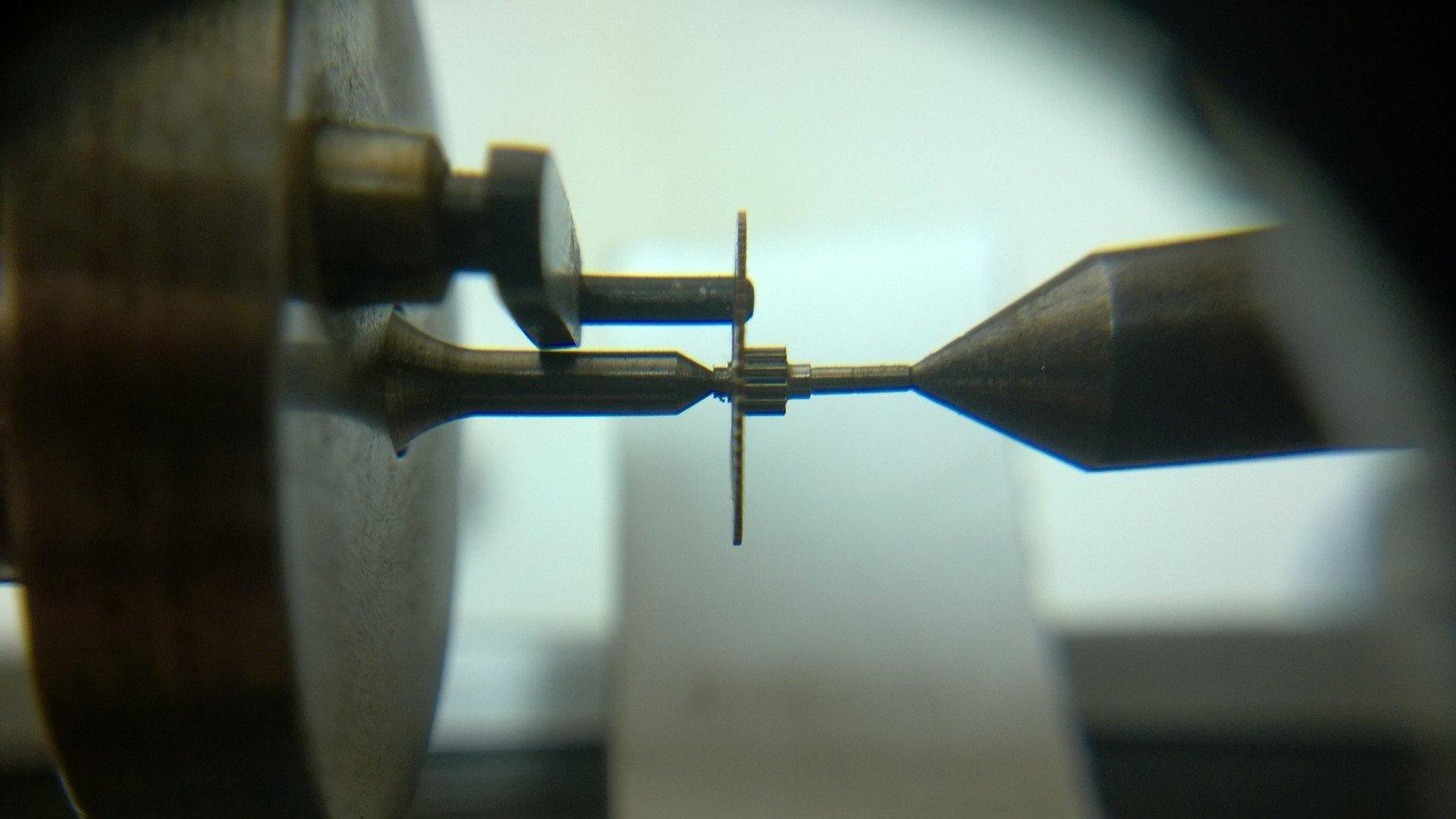 Watch repairing equipment