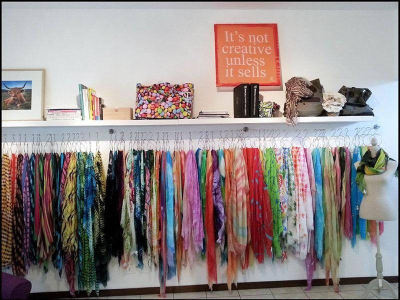 Showroom ITO Scarves Fino Mornasco
