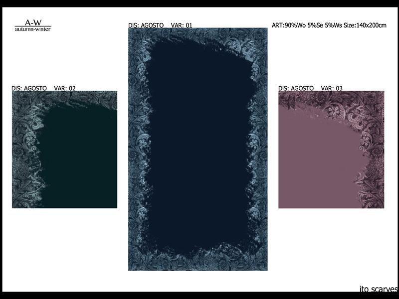 Collezione 2016/2017 autunno/inverno ITO Scarves