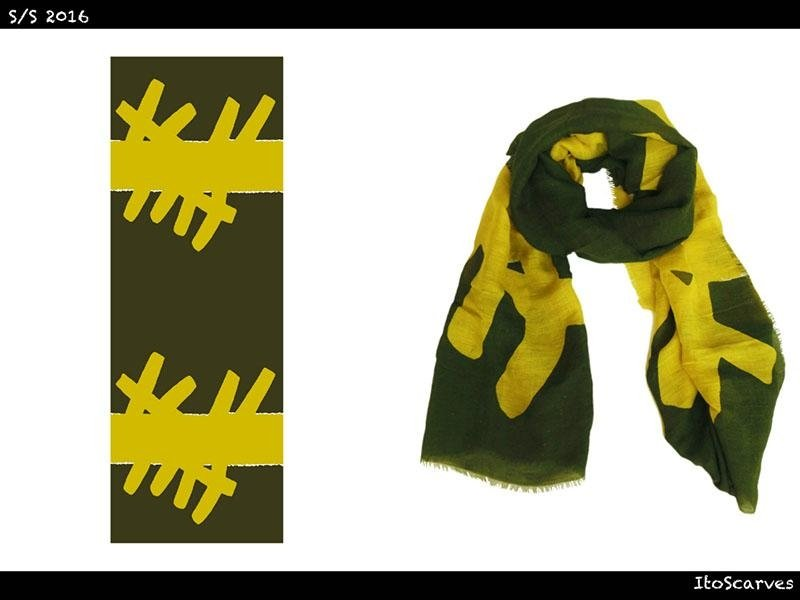 ITO Scarves Spring/Summer Collection 2016