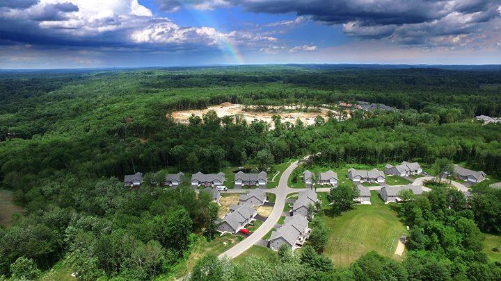 Sawmill Ridge Condominium Atkinson NH Aerial